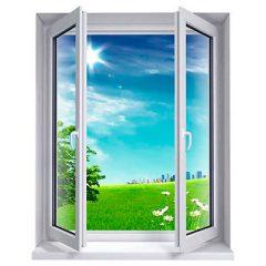 Reformas integrales en Alcala de Henares carpintería de aluminio una ventana abierta