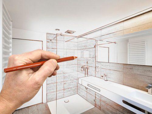 Reformas integrales en Alcala de Henares diseño del cuarto del baño