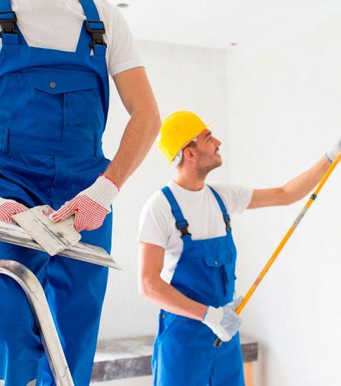 Reformas integrales en Alcala de Henares pintores trabajadores