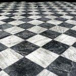 Reformas integrales en Alcala de Henares suelo de mármol del baño